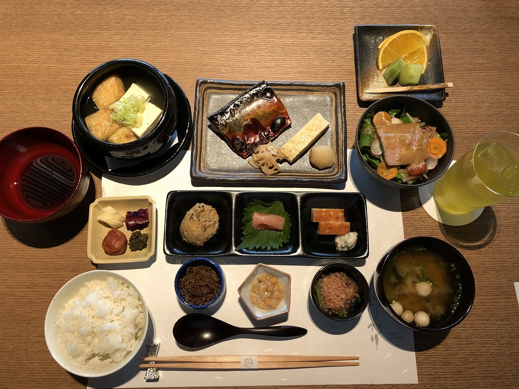由縁別邸 代田の朝食2