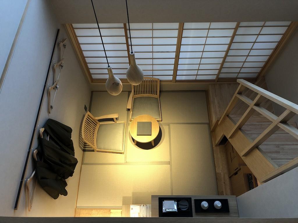 由縁別邸 代田のメゾネットルームの内観6