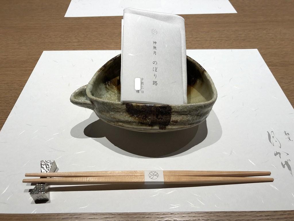由縁別邸 代田の「割烹 月かげ」で晩飯1