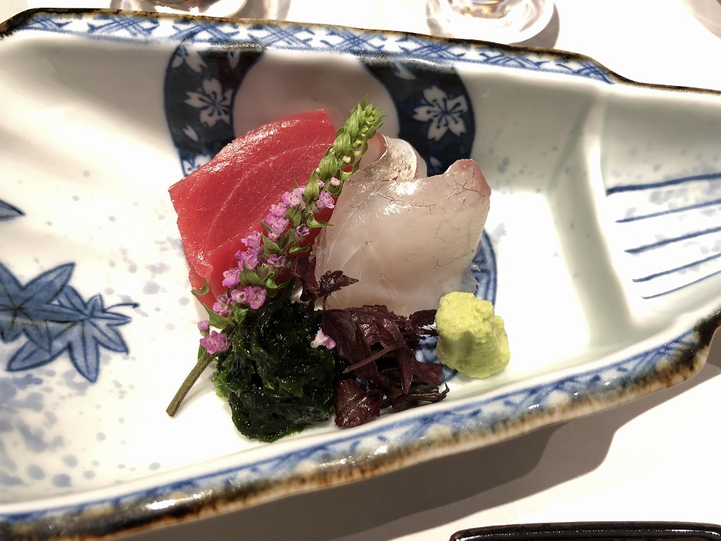 由縁別邸 代田の「割烹 月かげ」の晩飯のお作り