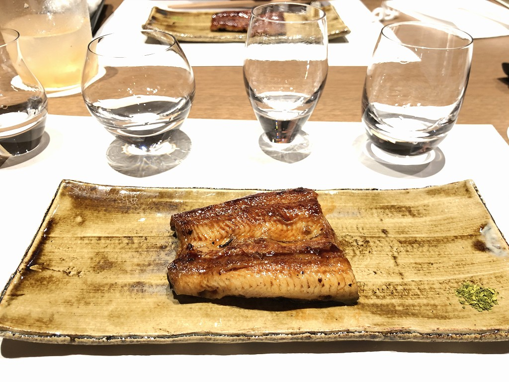 由縁別邸 代田の「割烹 月かげ」の晩飯の焼き物