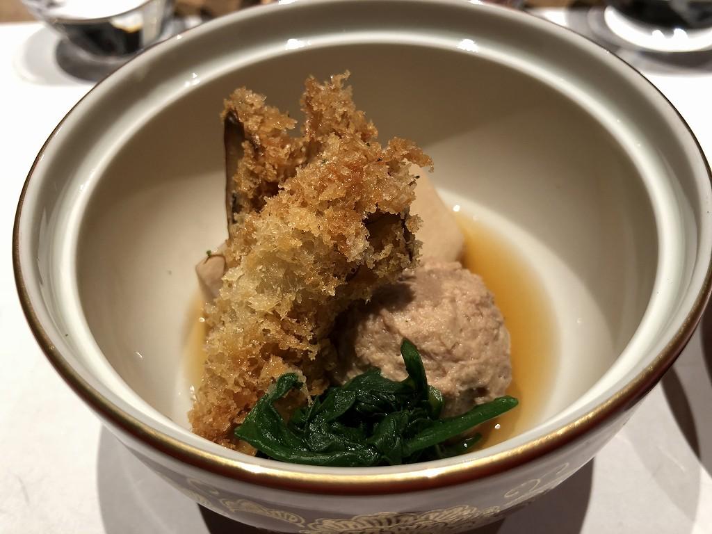 由縁別邸 代田の「割烹 月かげ」の晩飯の煮物