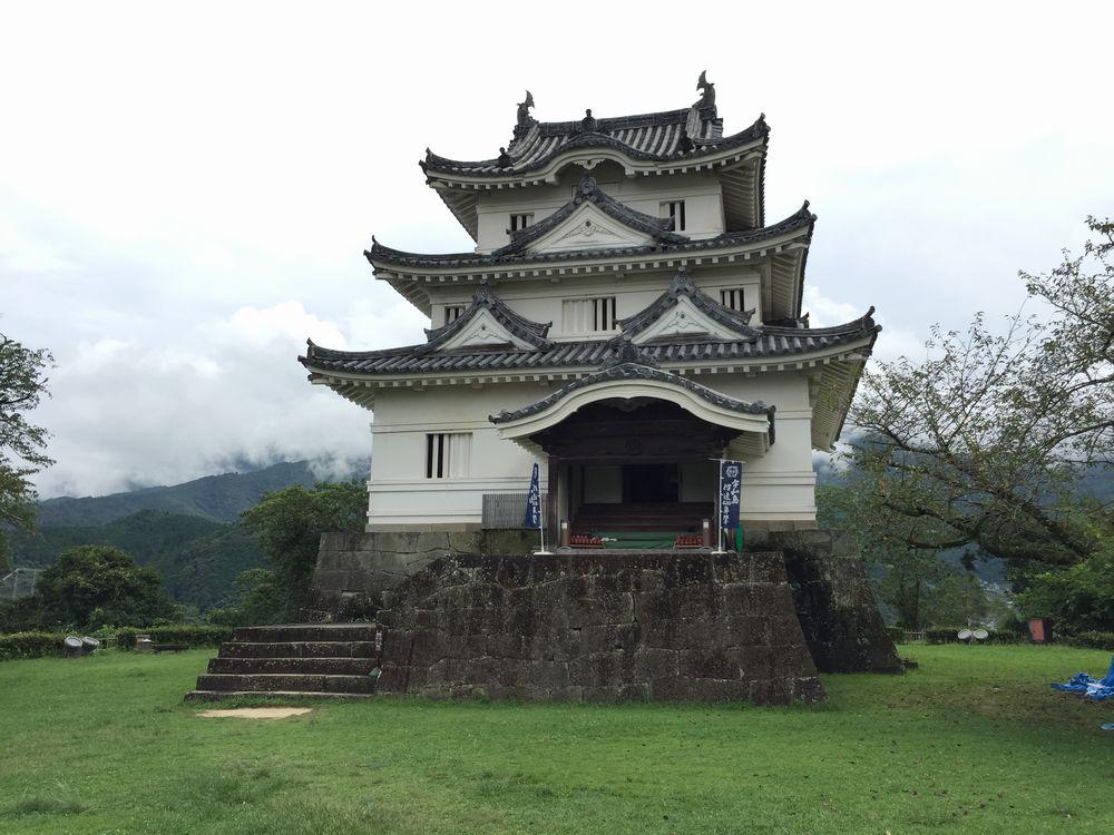 宇和島城の天守閣