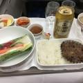 アシアナ航空1065便ビジネスクラスの機内食