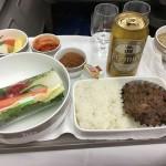 アシアナ航空のソウル金浦-羽田(OZ1065)ビジネスクラス