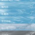 極寒ソウルの気温