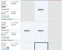 ANAマイルで予約したメルボルン行きの特典航空券