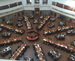 メルボルンのビクトリア州立図書館
