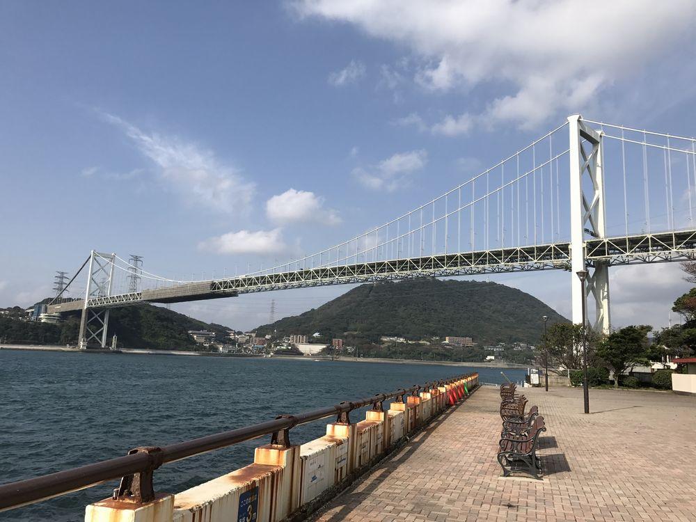 ノーフォーク広場から関門橋