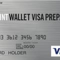 POINT WALLET VISA PREPAID券面デザイン