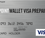 POINT WALLET VISA PREPAID券面デザイン