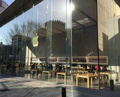 Apple Store表参道でiPhoneの液晶割れを修理