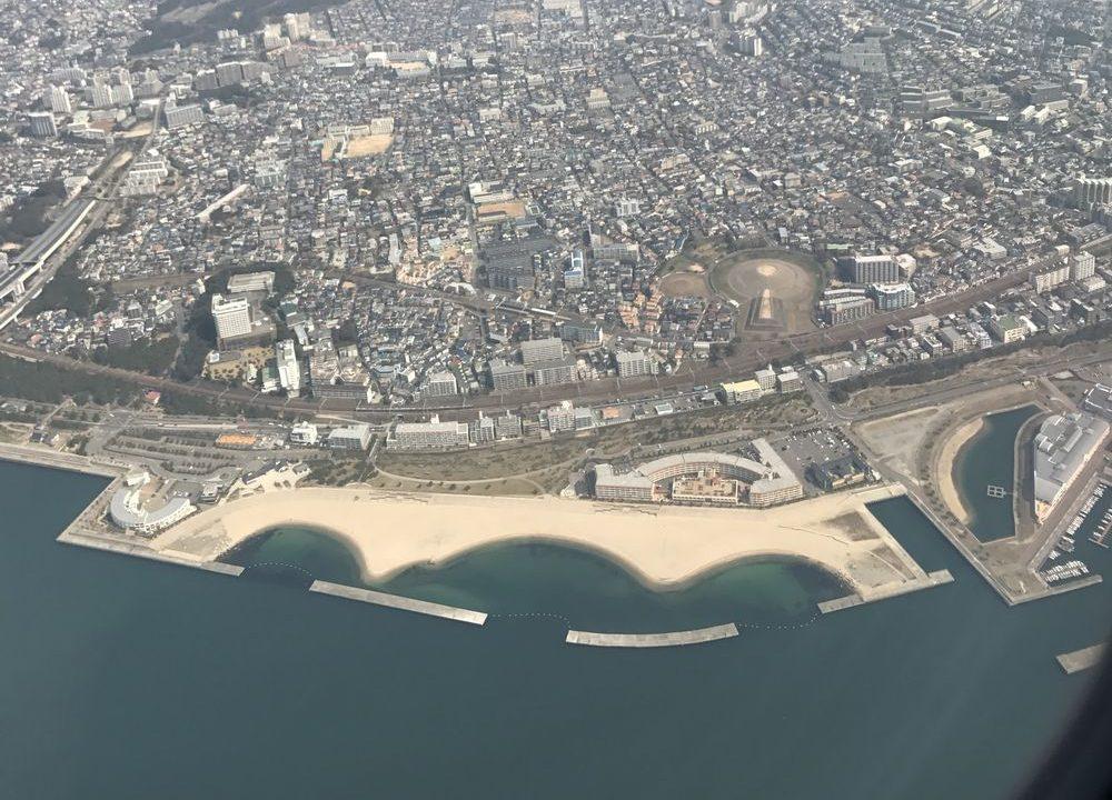 スカイマーク103便で神戸空港