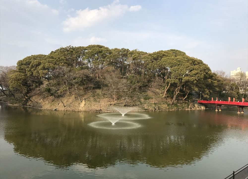 大阪・天王寺公園の茶臼山