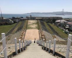 五色塚古墳から淡路島
