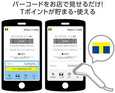 モバイルTカードのイメージ