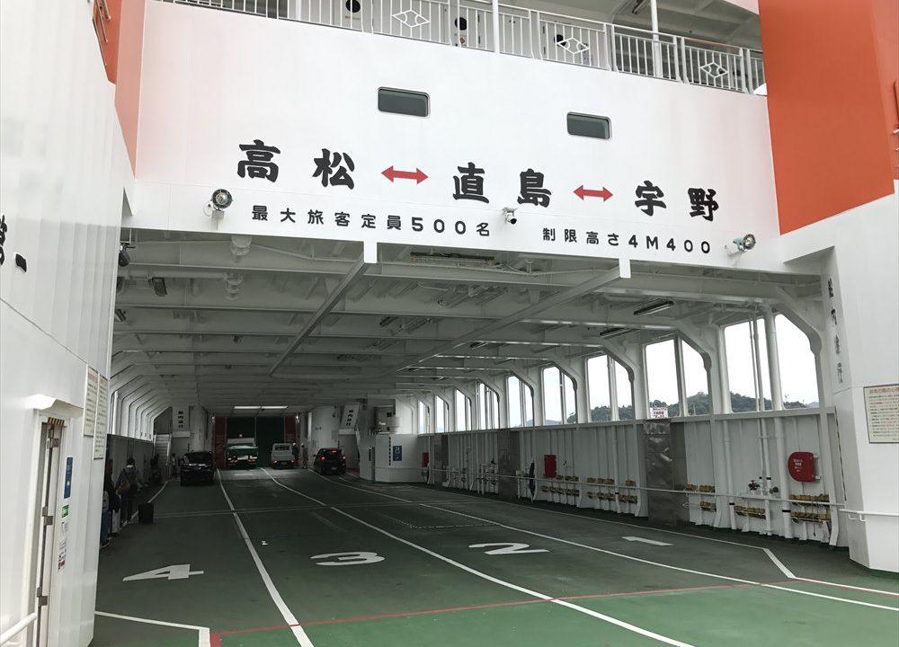 直島へのアクセス