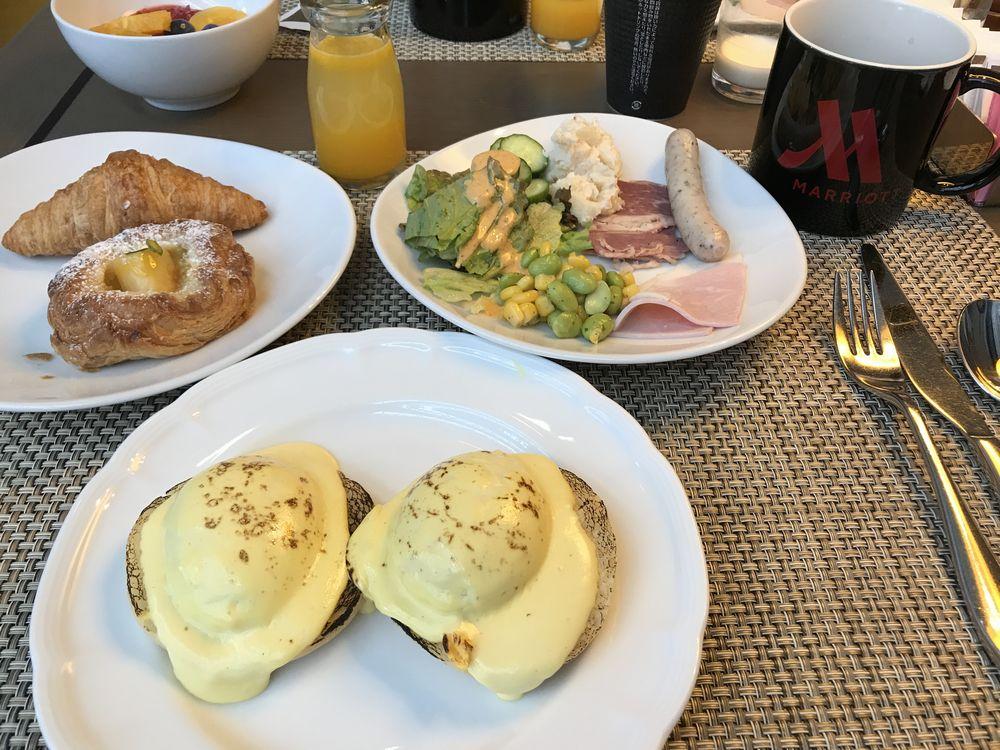 マリオットゴールドで東京マリオットホテル朝食無料