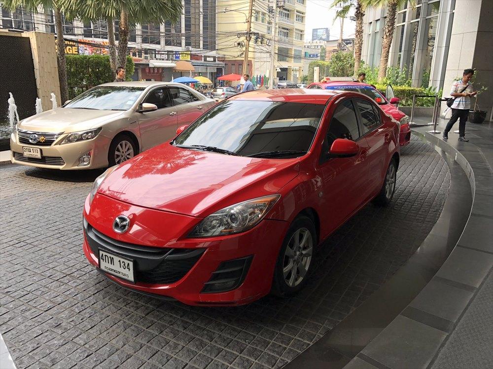 MAZDA3(アクセラ)のGrabタクシー