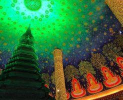 ワットパクナムの仏塔