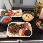 平昌・ソウル旅行記 (4) 特典航空券の金浦-羽田(JAL94便)ビジネスクラス搭乗記