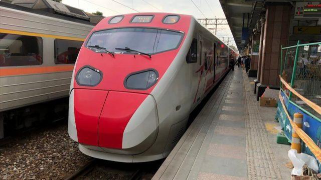 台鉄の「プユマ号」で花蓮駅から台北駅へ