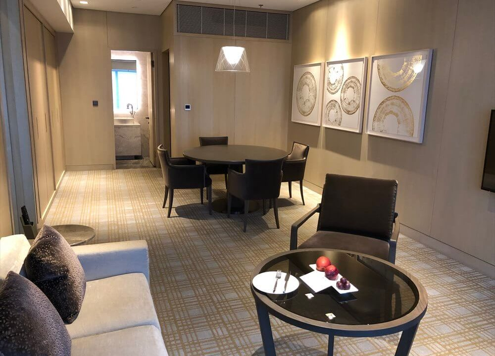 台北マリオットホテルのスイートルーム宿泊記