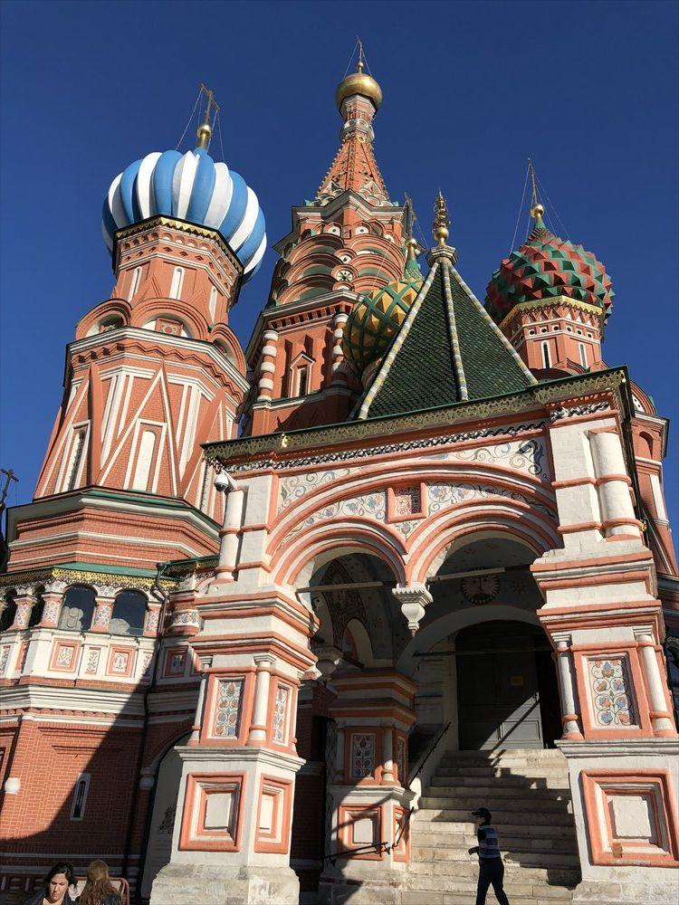 赤の広場の聖ワシリー修道院