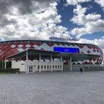 モスクワ4泊6日旅行記 (8) スパルタク・スタジアムとCSKAモスクワ・スタジアムを見に行く