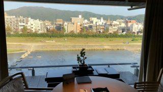 リッツカールトン京都のラグジュアリーからの眺め