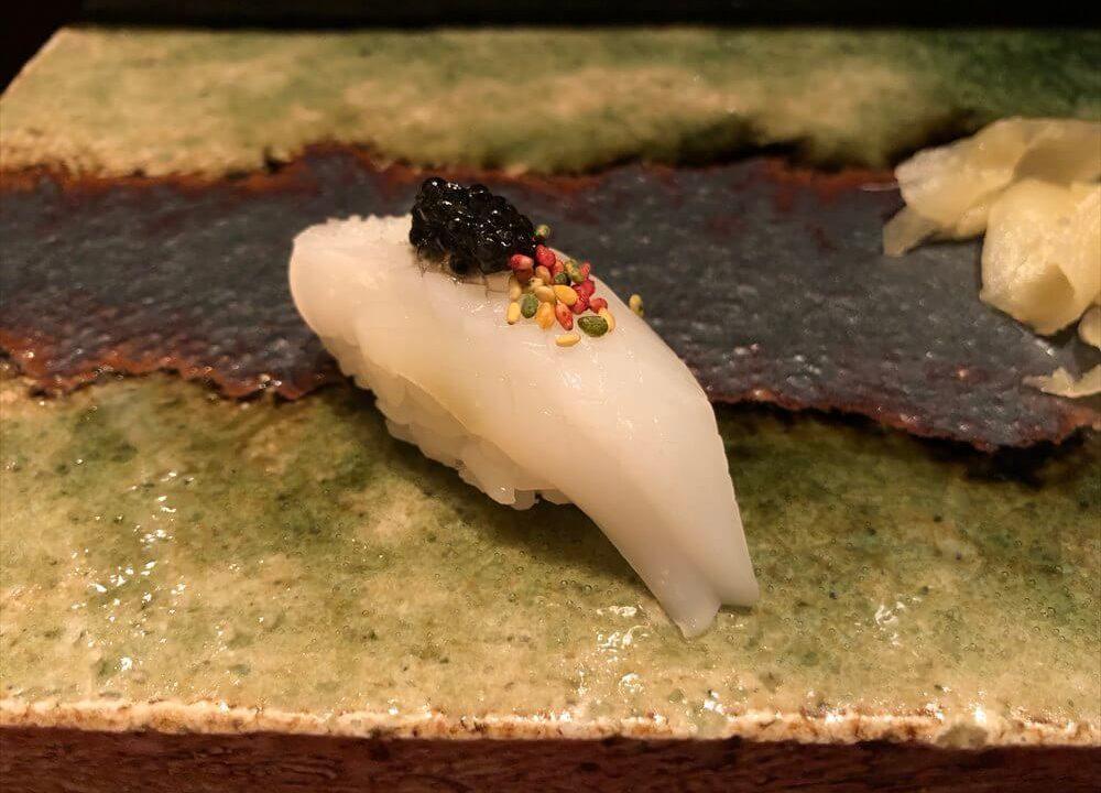 リッツカールトン京都の水暉で寿司