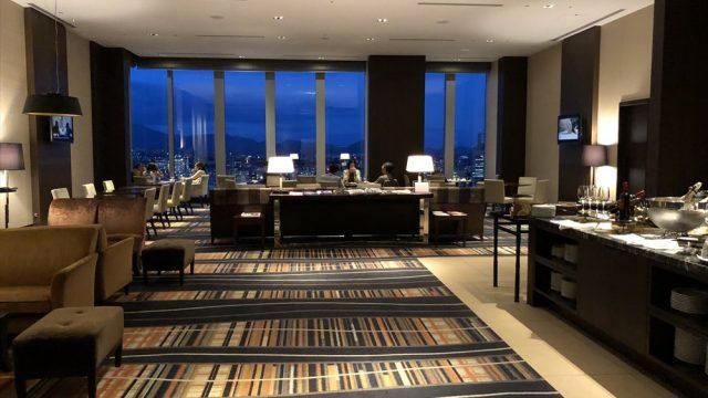 SPG・マリオットホテル・リッツカールトンホテルのクラブラウンジ
