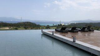 リッツカールトン沖縄の水盤
