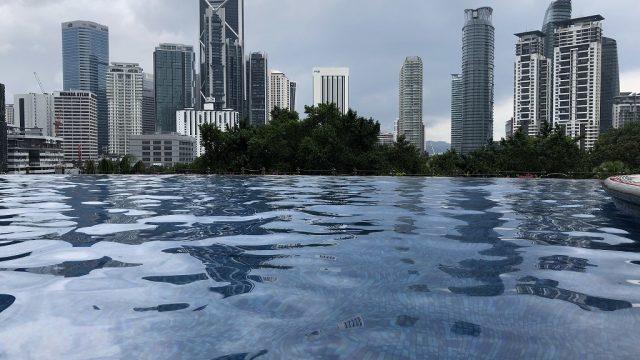 マンダリン オリエンタル クアラルンプールのプール