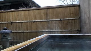 翠嵐ラグジュアリーコレクションホテル京都の露天風呂