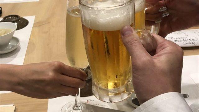 那覇の「かわじ」で飲み会