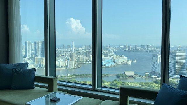 コンラッド東京の「ベイビュールーム」宿泊記