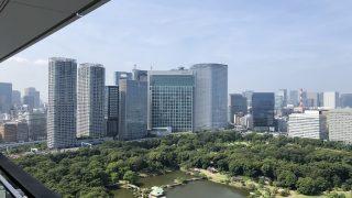 メズム東京「チャプター2、ガーデンビュー」宿泊記