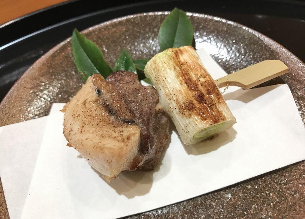 広島の「鮨処ひと志」のネギマ