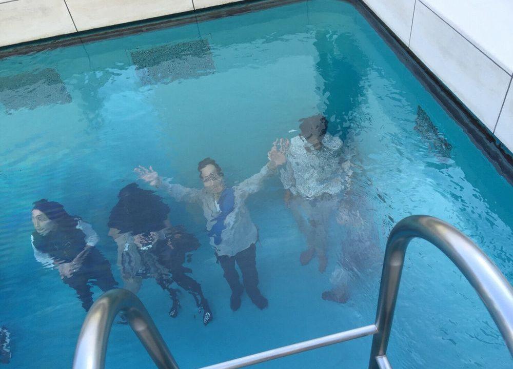 金沢21世紀美術館のスイミングプール