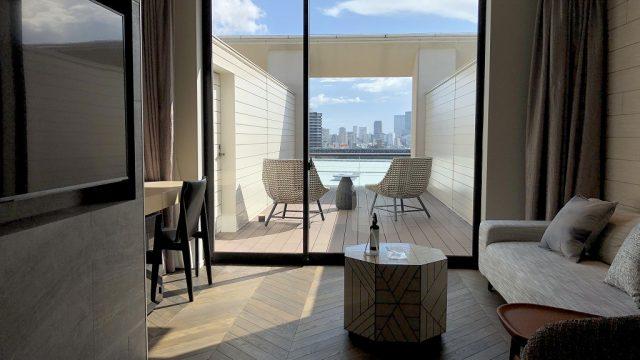 三井ガーデンホテル神宮外苑の杜プレミア「ジュニアスイートキング」