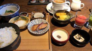 翠嵐ラグジュアリーコレクションホテル京都の朝食