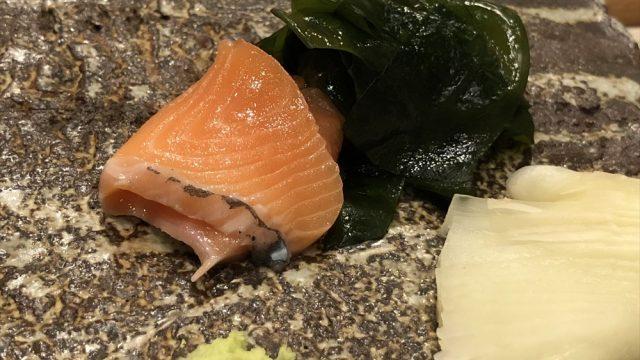 札幌の「鮨 西光」のマスノスケ