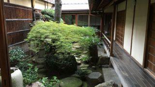 京町家「正庵」の中庭